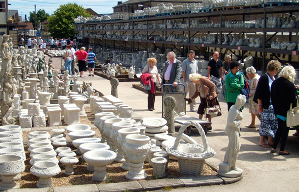 Whelans Concrete Garden Ornament Factory Outlet in Sheerness Kent